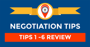 Negotiation Tip – Let's Review